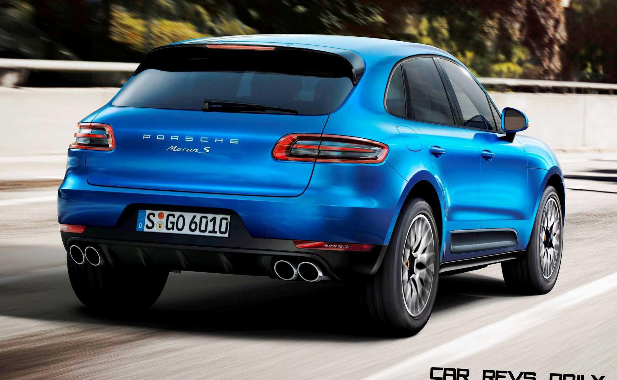 Porsche Macan Turbo Specifications minivan