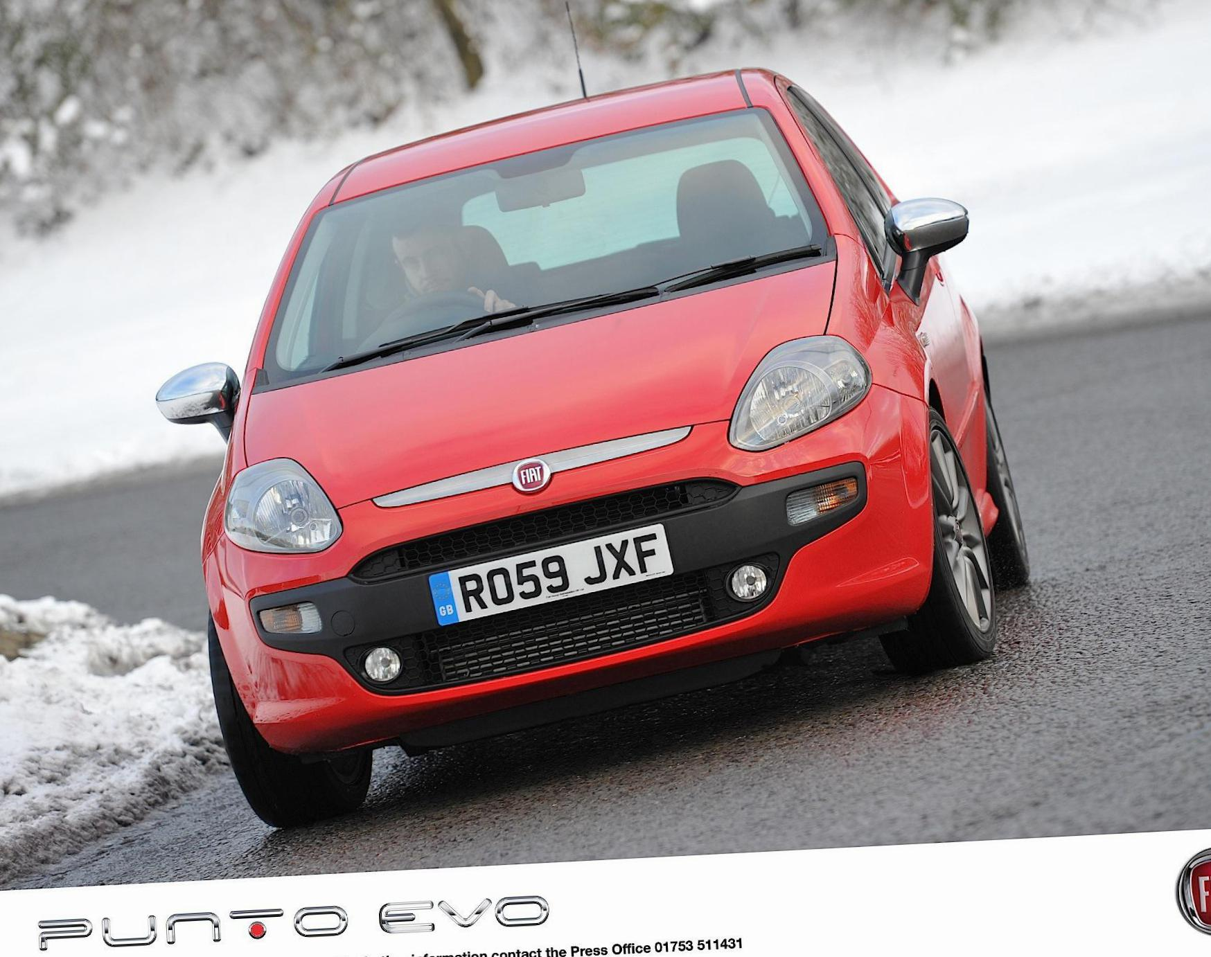 Punto Evo 3 doors Fiat Specification hatchback