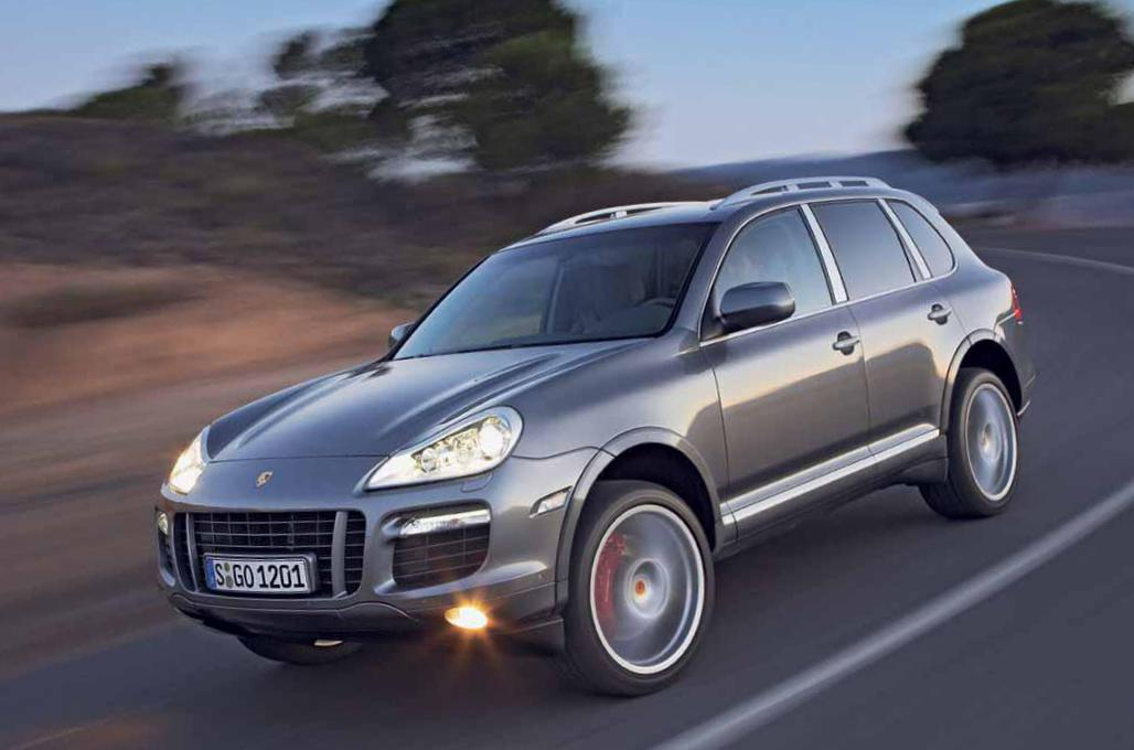 Porsche Cayenne Turbo usa 2013