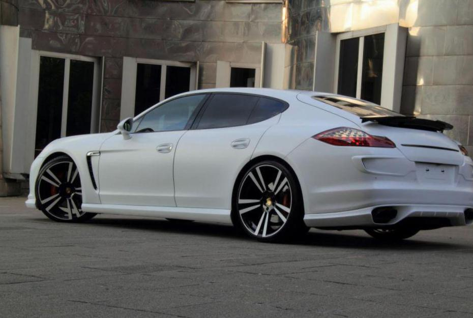 Porsche Panamera Turbo new van