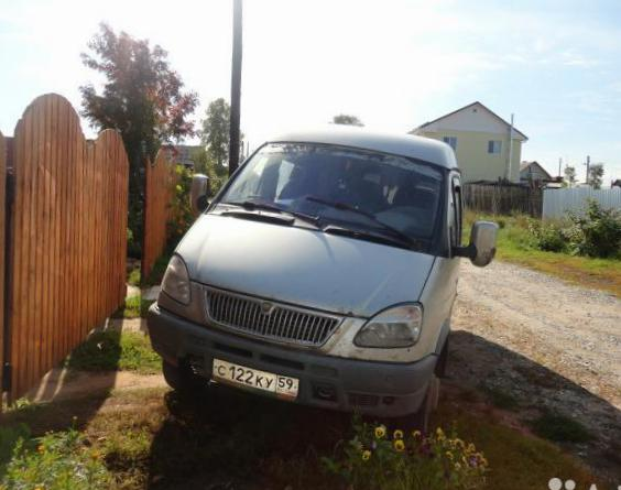 GAZ 3221 Gazel prices wagon