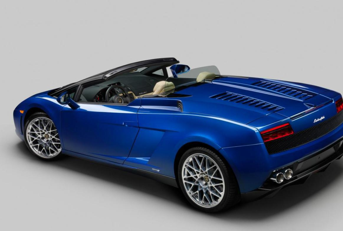 Lamborghini Gallardo LP 550-2 parts hatchback