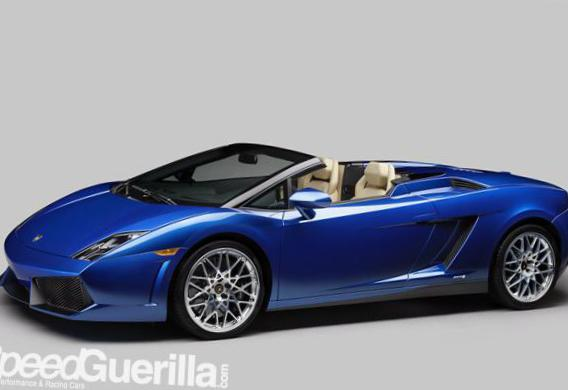 Gallardo LP 550-2 Spyder Lamborghini Specification 2008