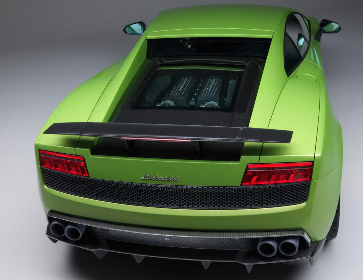 Gallardo LP 570-4 Superleggera Lamborghini configuration 2010