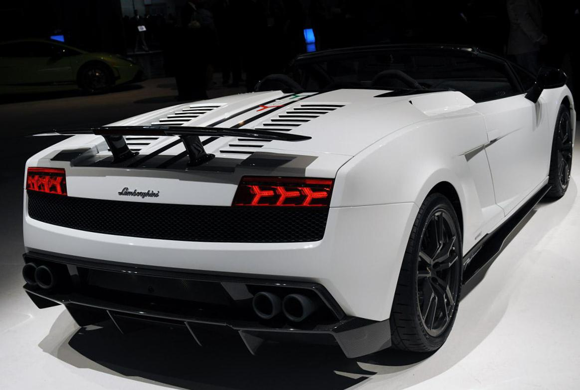 Gallardo LP 570-4 Spyder Performante Lamborghini price 2010