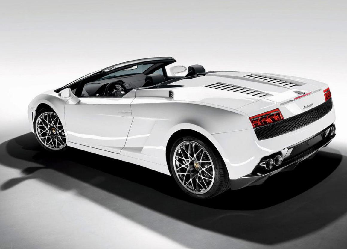 Gallardo LP 560-4 Spyder Lamborghini Specification 2010