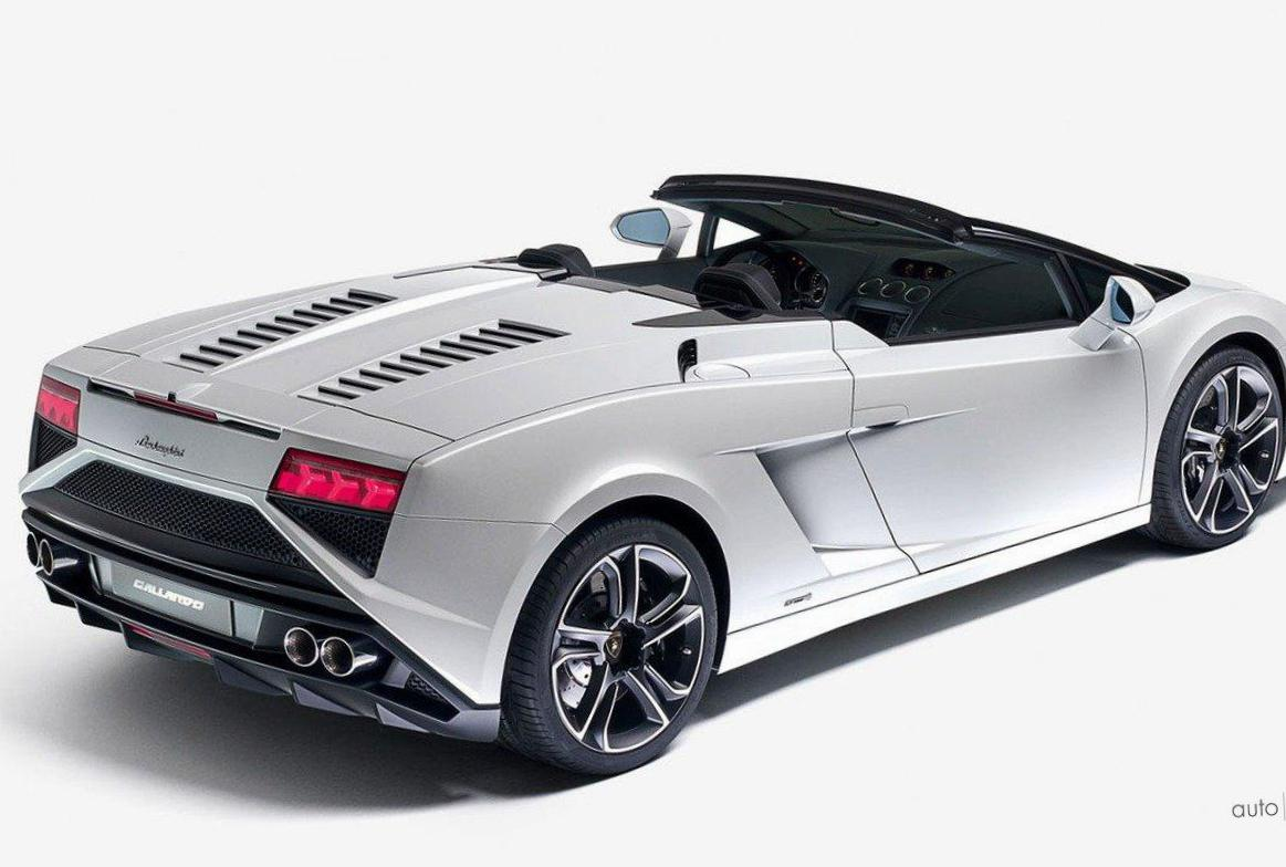 Lamborghini Gallardo LP 560-4 Spyder Photos and Specs ...