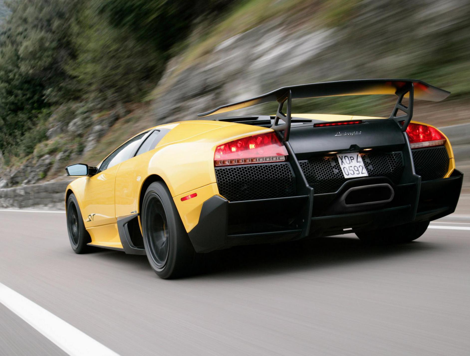 Lamborghini Murcielago Lp 670 4 Superveloce Photos And Specs Photo