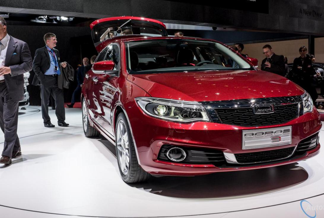 Qoros 3 Hatch configuration suv