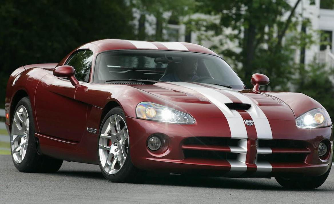 Dodge Viper Coupe parts 2013