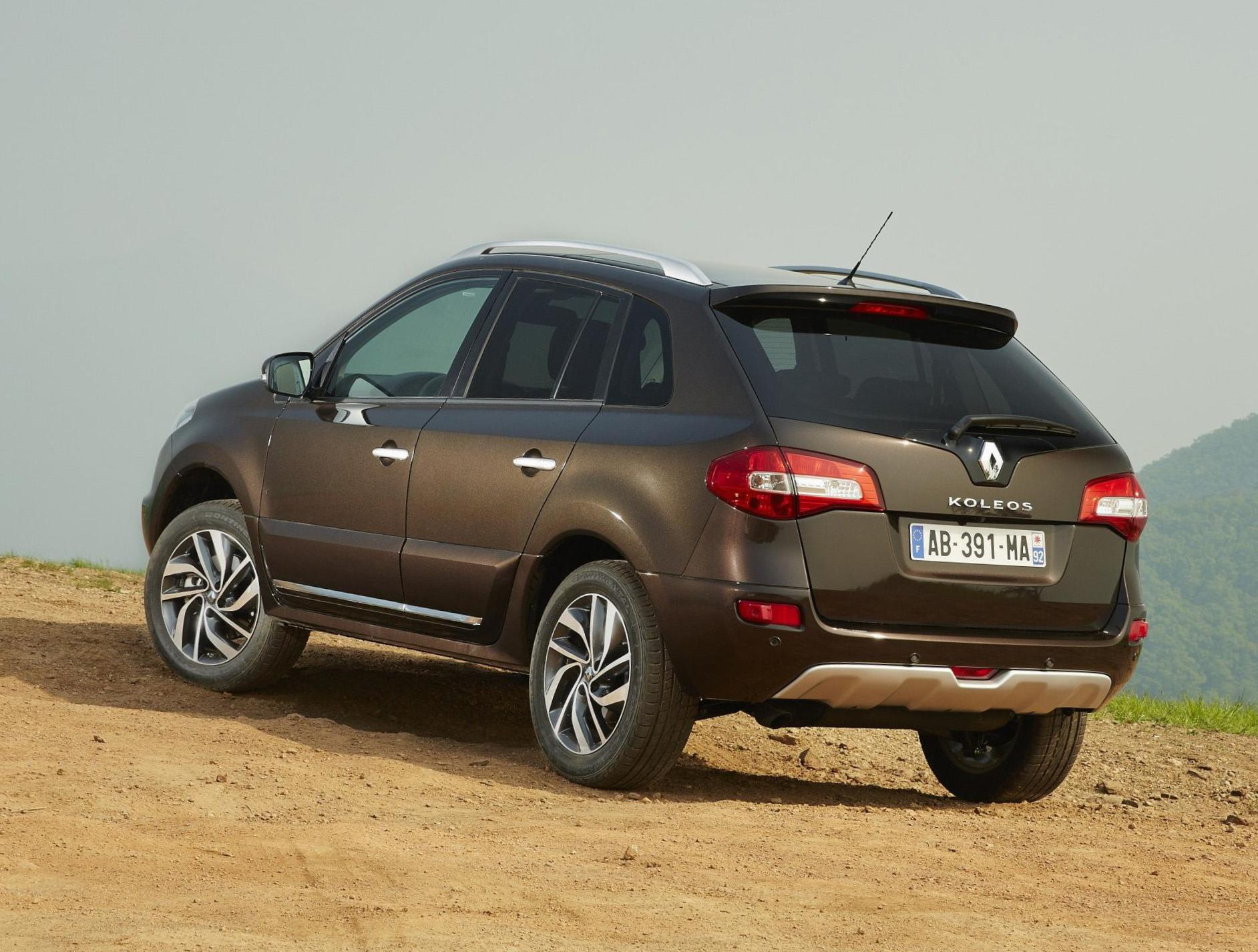 Koleos Renault Specifications 2012