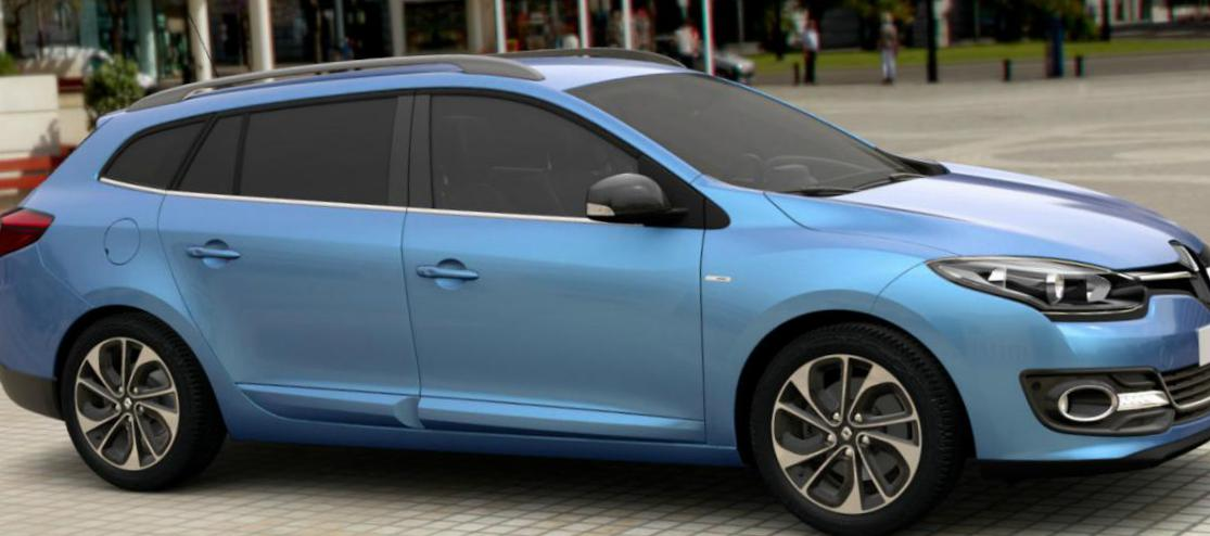 Renault Megane Estate how mach 2015