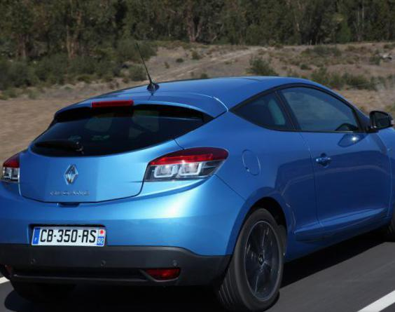 Megane Coupe Renault how mach 2010