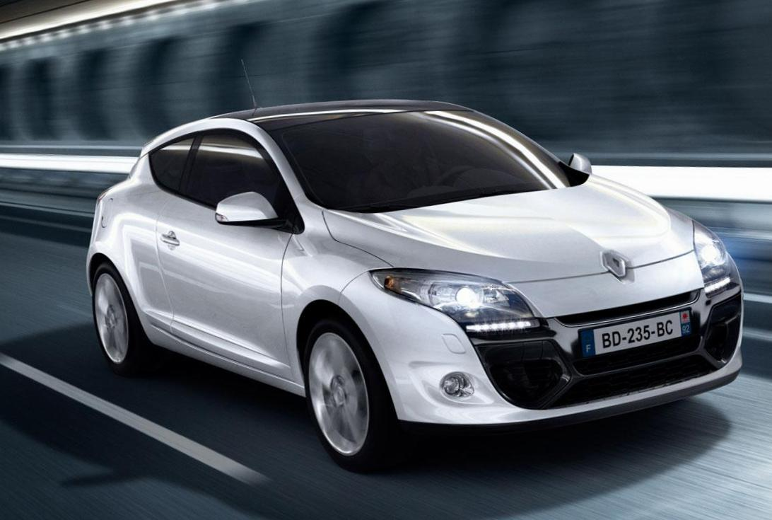 Megane Coupe Renault Characteristics 2012