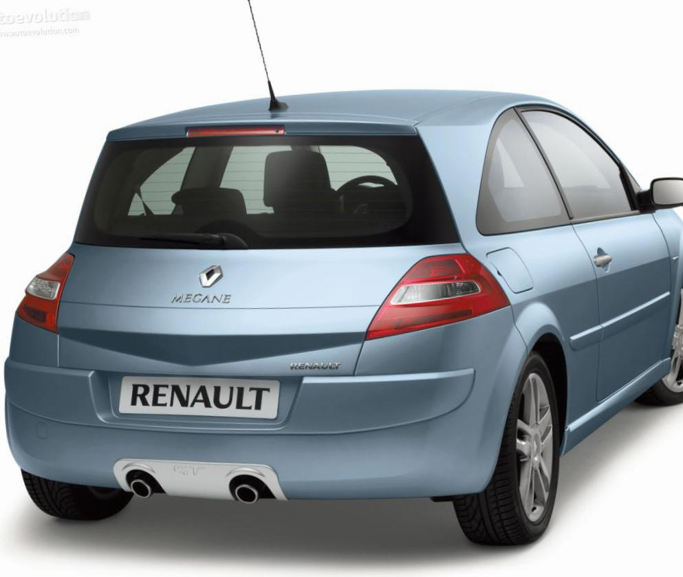 Megane Coupe Renault cost 2010
