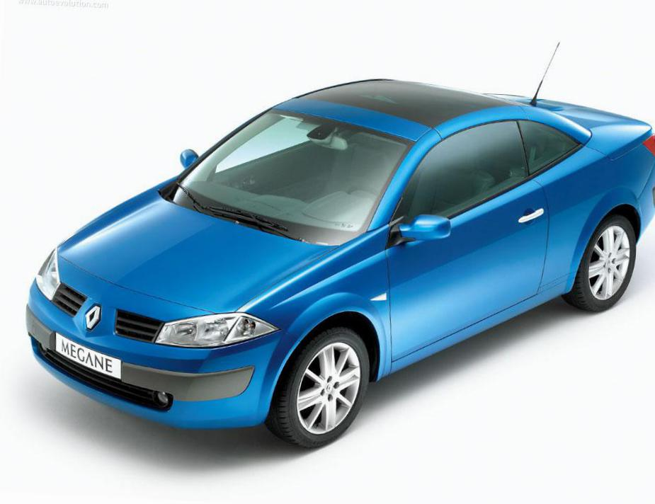 Renault Megane Coupe how mach liftback