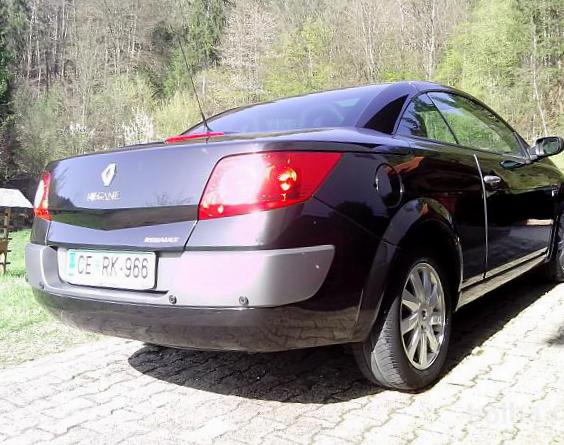 Renault Megane Cabriolet Specifications 2011