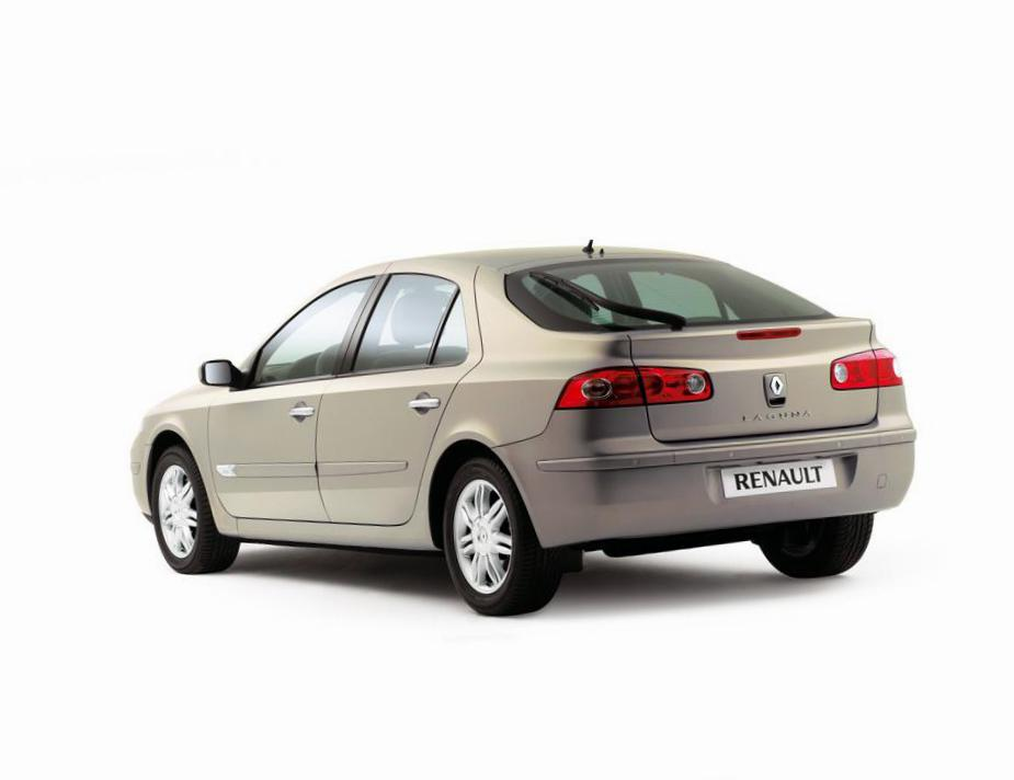 Renault Laguna Hatchback model sedan