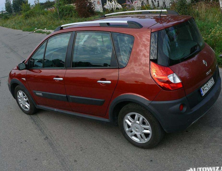 Renault Scenic Conquest lease 2006