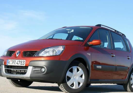 Renault Scenic Conquest parts liftback