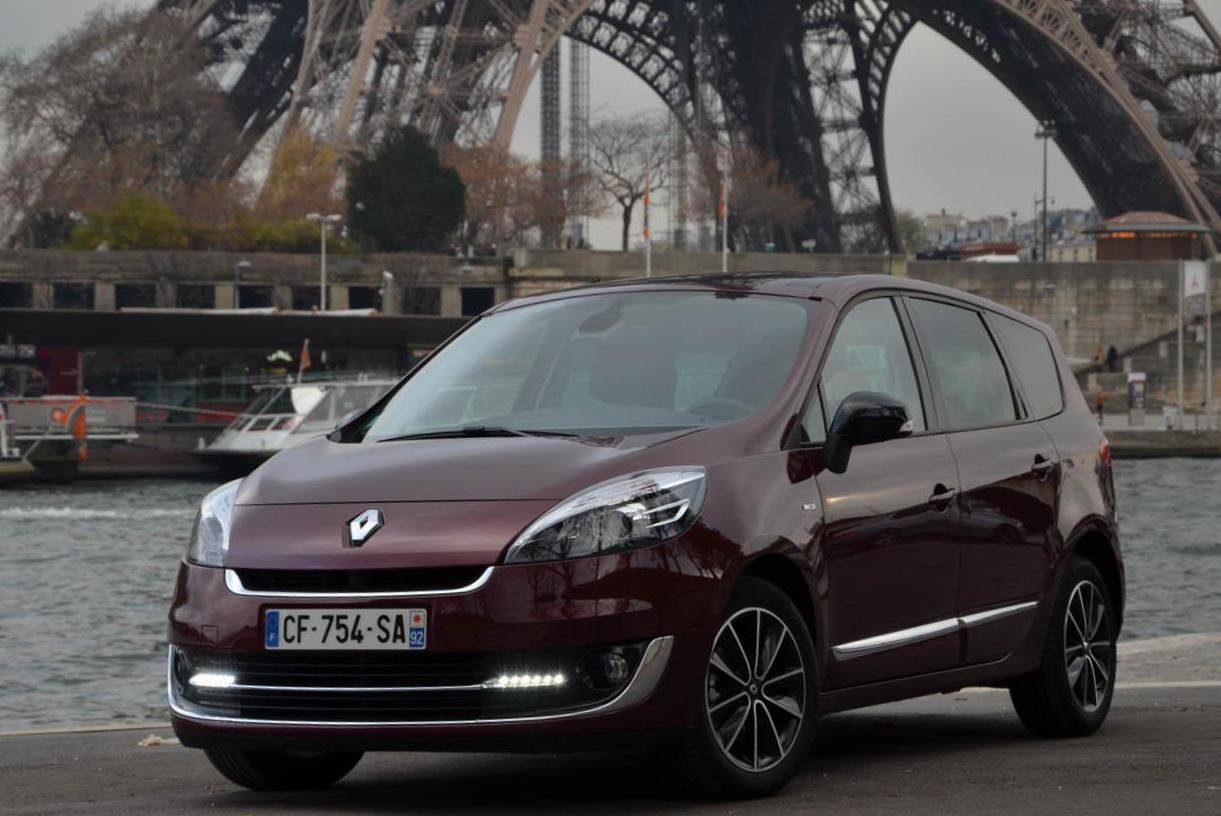 Grand Scenic Renault Specification 2014