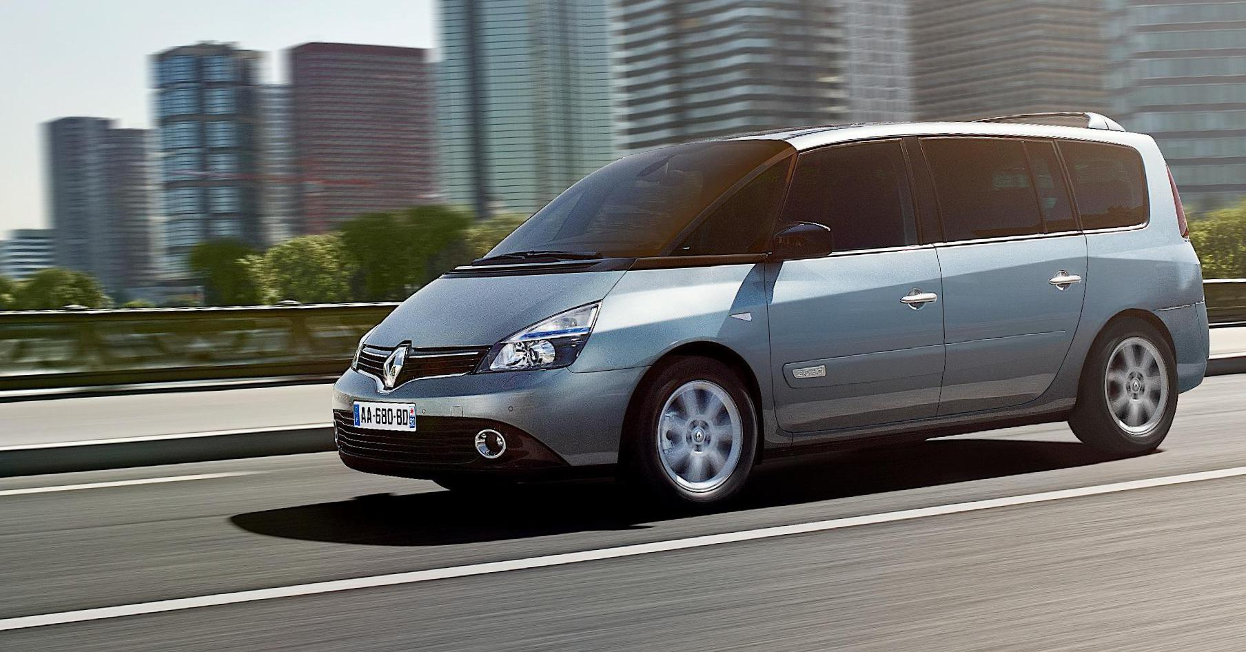 Renault Espace lease 2012