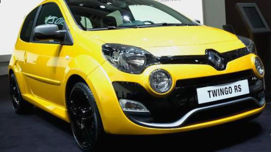 Renault Twingo R.S. Specification coupe