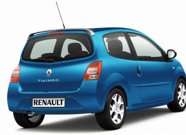 Renault Twingo Specification minivan