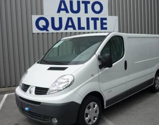 Renault Trafic Fourgon Specification 2012