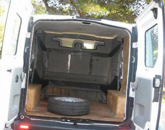 Renault Trafic Fourgon parts 2013
