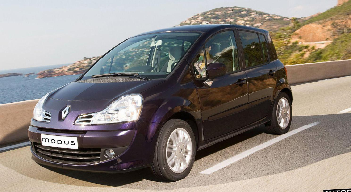 Modus Renault review 2010
