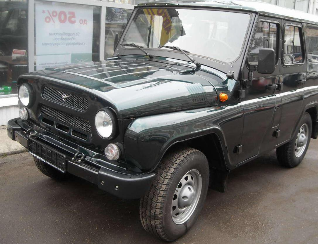 Hunter UAZ new 2010
