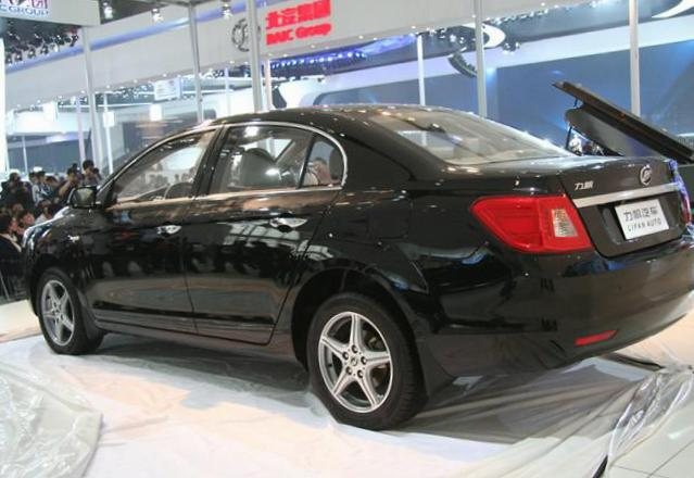 Lifan 720 Specifications sedan