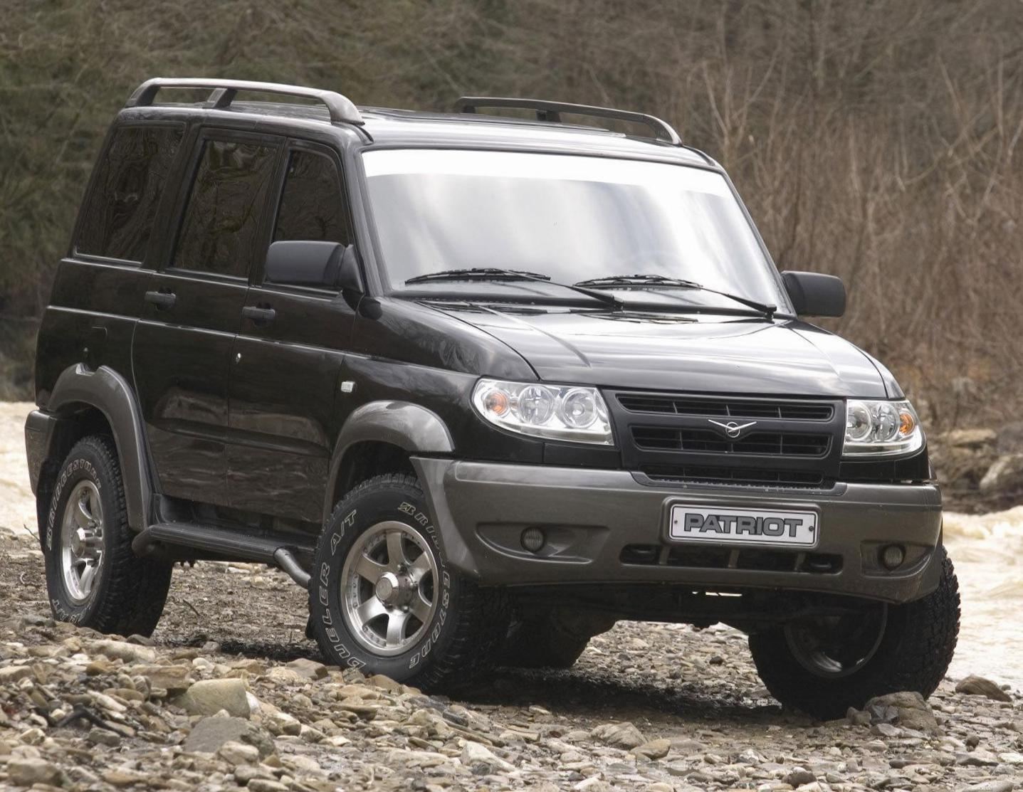 UAZ Patriot reviews wagon