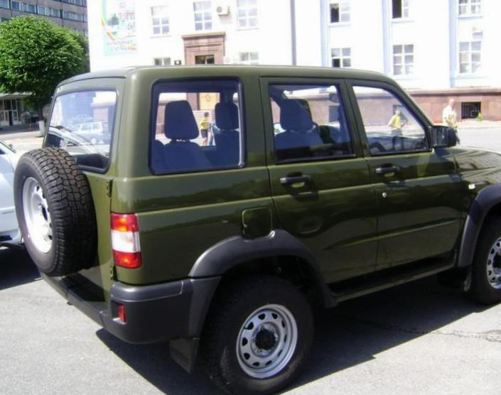 Patriot Sport UAZ models 2011