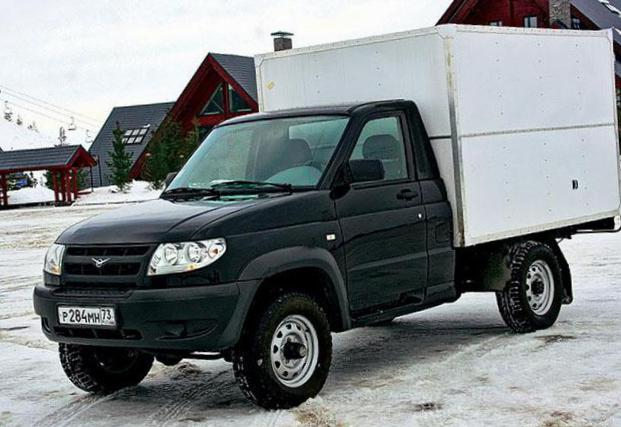 UAZ Cargo Specification 1998