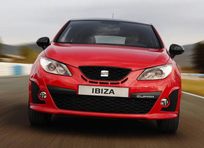 Ibiza Cupra Seat Specification hatchback