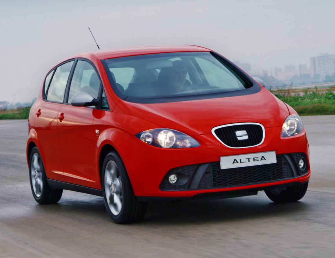 Altea FR Seat Specification 2010