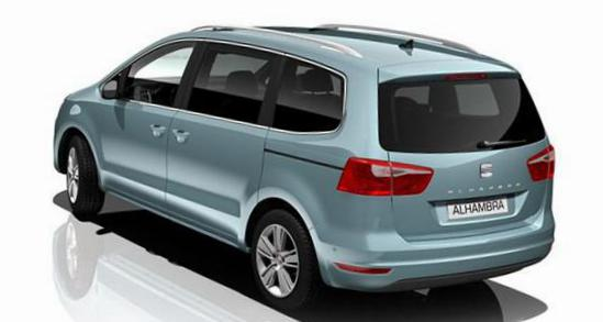 Seat Alhambra Specification minivan