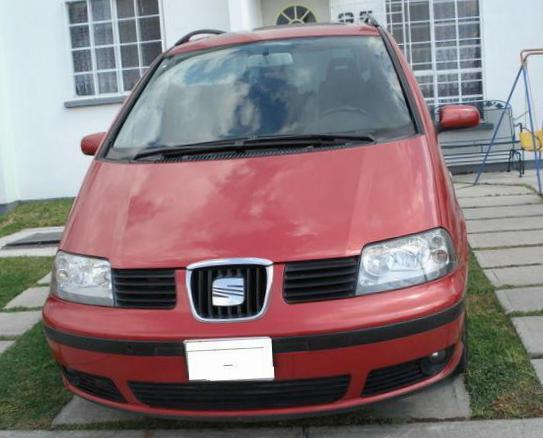 Seat Alhambra how mach 2009