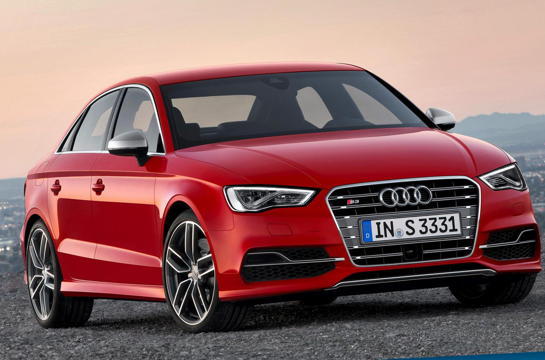 Audi A3 Sedan Specifications 2012
