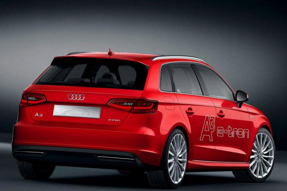 A3 e-tron Audi Specifications hatchback