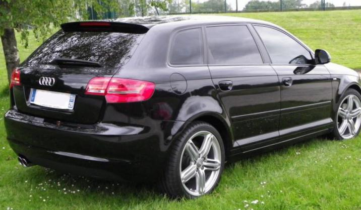 audi a3 sportback photos and specs photo a3 sportback. Black Bedroom Furniture Sets. Home Design Ideas