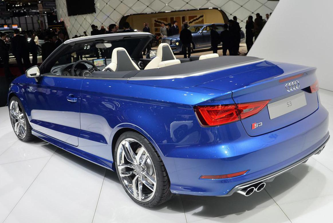 Audi S3 Cabriolet new 2014