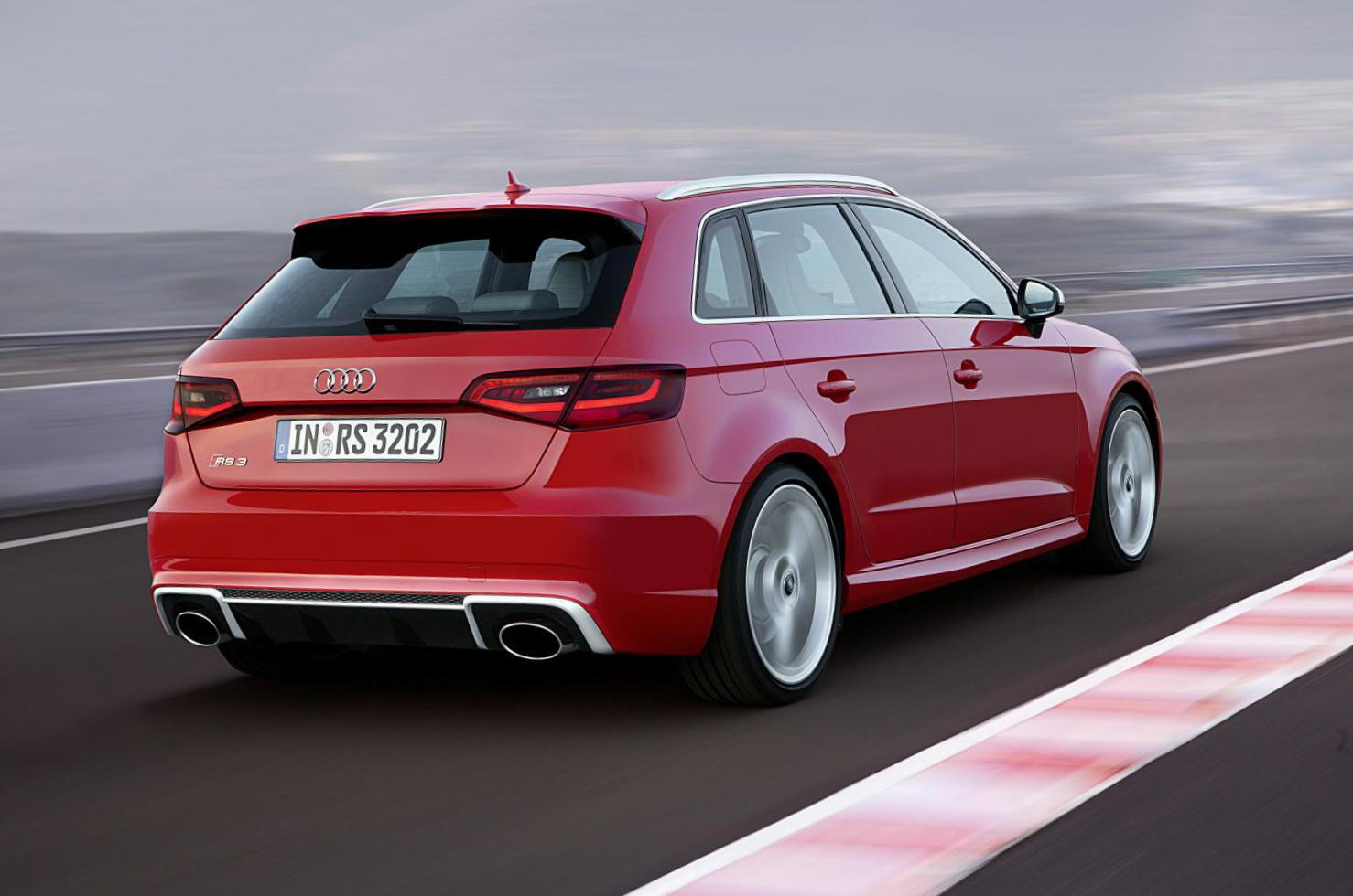 Audi RS3 Sportback how mach hatchback