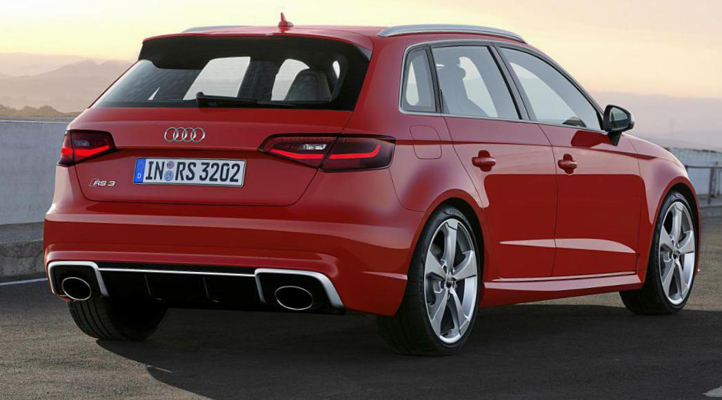 RS3 Sportback Audi review 2009