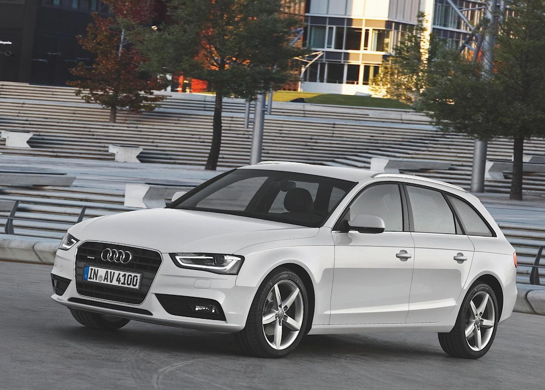 Audi A4 Avant approved 2012
