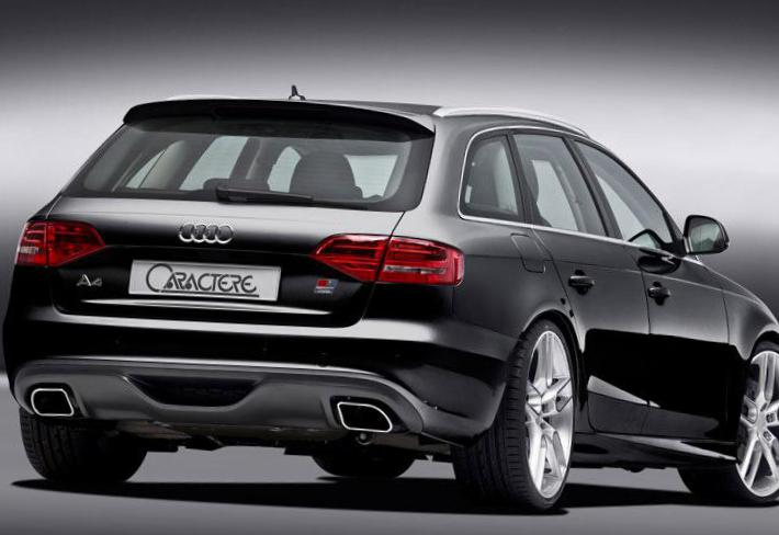 Audi A4 Avant Specifications 2012