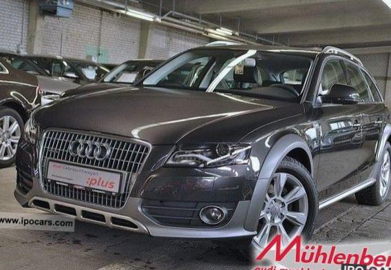 Audi A4 allroad quattro approved 2015