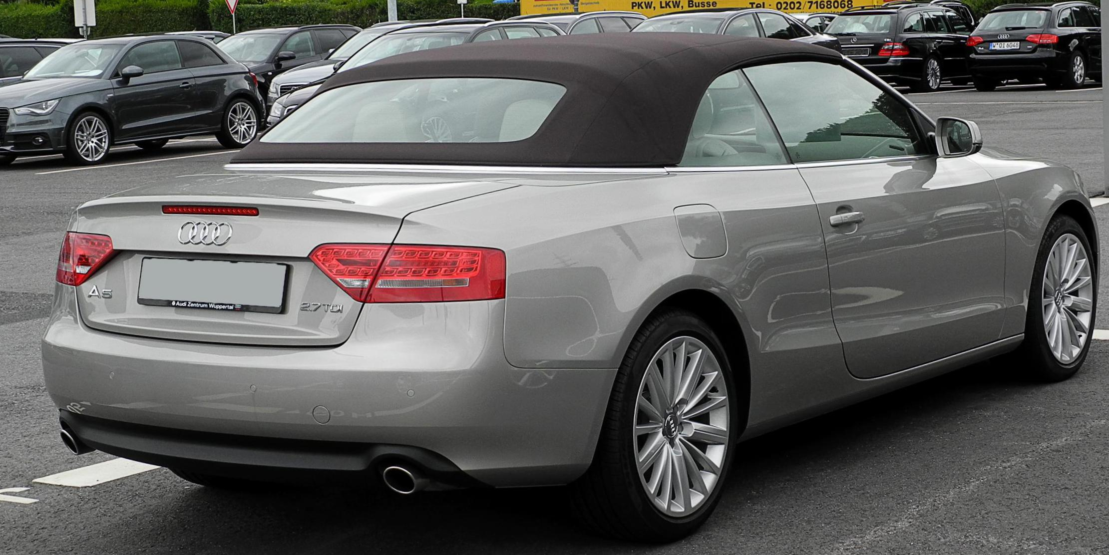 Audi A5 Cabriolet used 2012